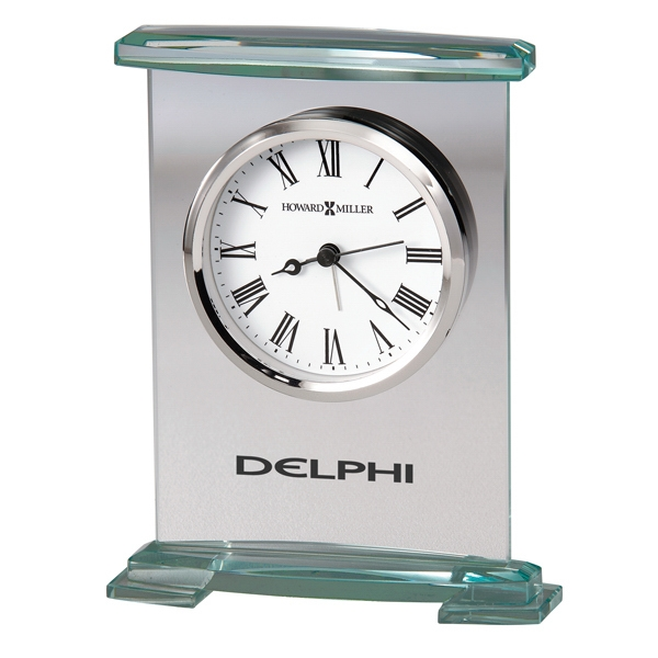 Augustine - Glass Bracket Style Alarm Clock Photo