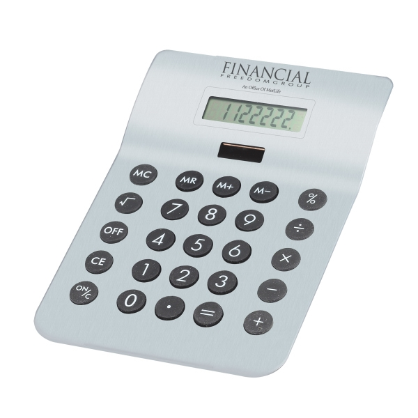 Executive Solar Powered Desktop Calculator Photo