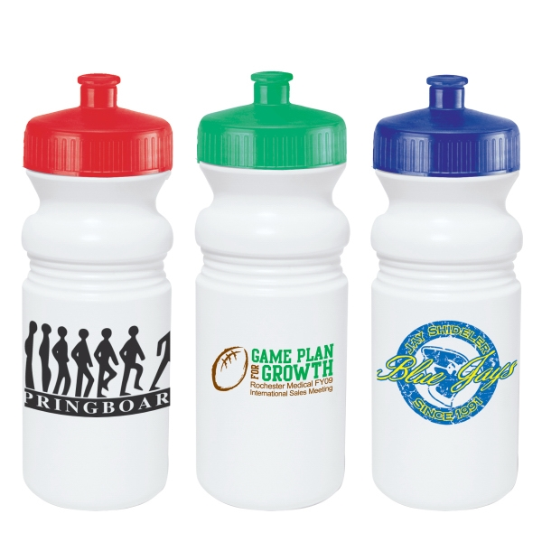 Water Bottle With Wide Mouth Design And Pull-spout, 20 Oz Photo