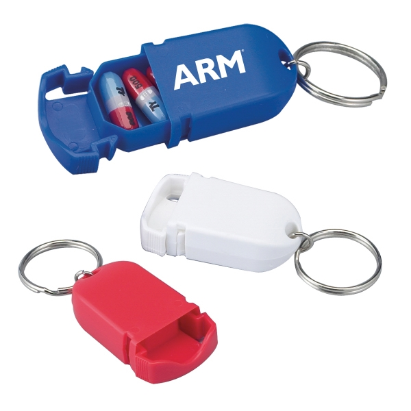 Mini Pill Holder Key Chain Photo