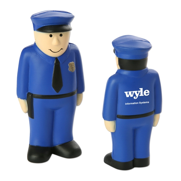 Policeman Shaped Stress Reliever Photo