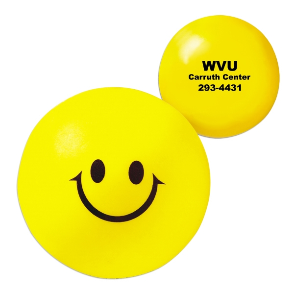 Smiley Face Stress Reliever Ball Photo