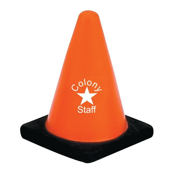 Construction Cone Stress Reliever Photo
