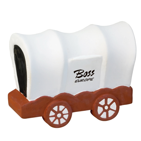 Covered Wagon Shaped Stress Reliever Photo