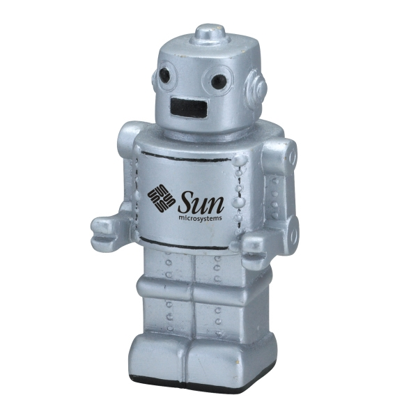 Robot Shaped Stress Reliever Photo
