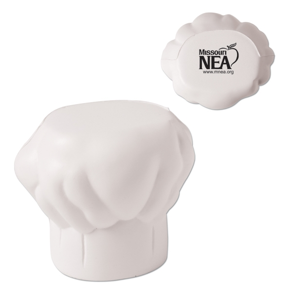 Chef's Hat Shaped Stress Reliever Photo