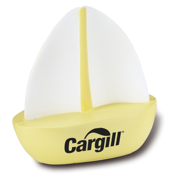 Sailboat Shaped Stress Ball Photo