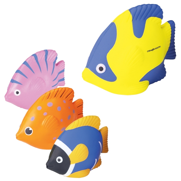 Tropical Fish Shaped Stress Reliever Photo
