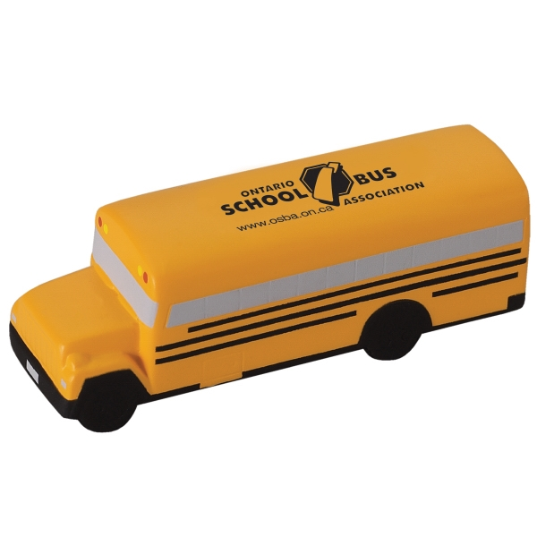 School Bus Shaped Stress Ball Photo