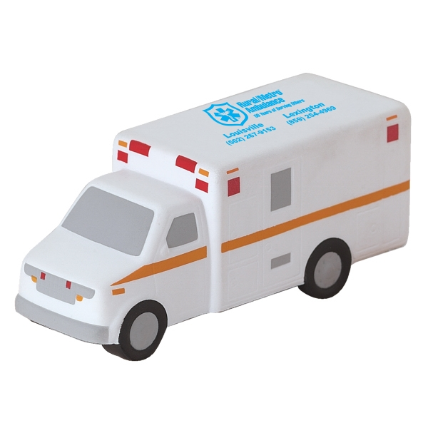 Ambulance Shaped Stress Ball Photo