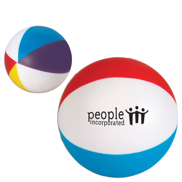 Beach Ball Shape Stress Reliever Photo