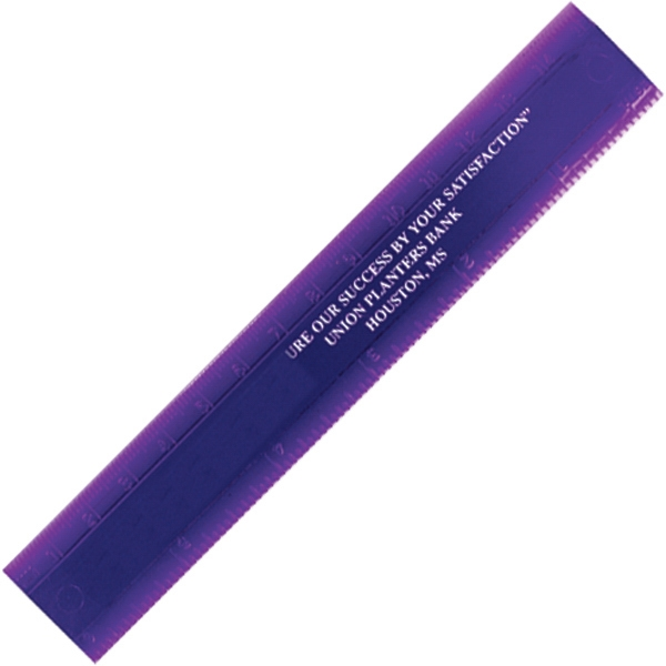 """Double Beveled Edge 6"""" Ruler - 6"""" double beveled edge ruler with metric and English scales."""