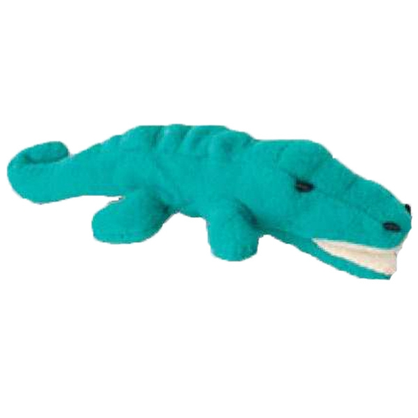 Weebeans (tm) Animal Fair - Alligator - Three Inch Plush Toy Animal With Silver Ball Chain, Blank Photo