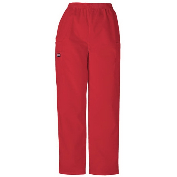 Cherokee - Red - Sa4200 Unisex Utility Scrub Pant - 36 Colors Available Photo