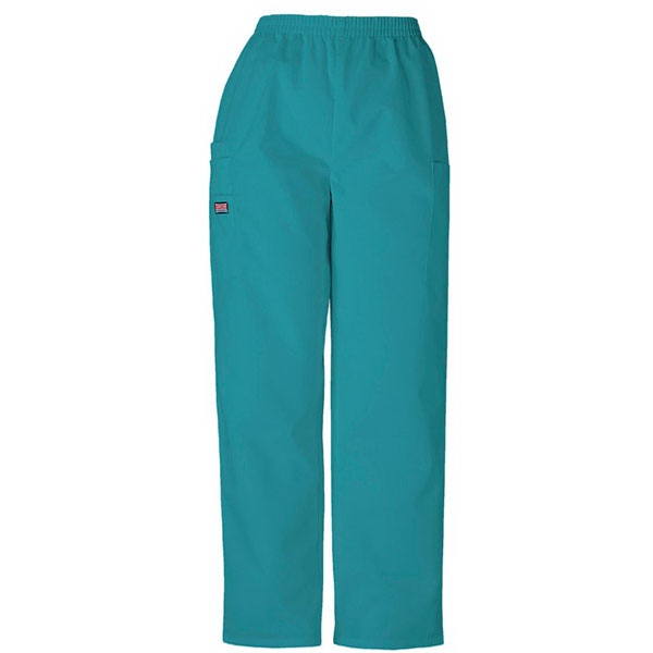 Cherokee - Real Teal - Sa4200 Unisex Utility Scrub Pant - 36 Colors Available Photo