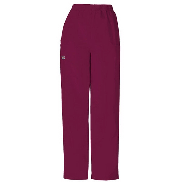 Cherokee - Wine - Sa4200 Unisex Utility Scrub Pant - 36 Colors Available Photo