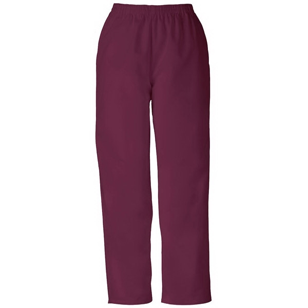 Cherokee - Wine - Sa4001 Pull-on Scrub Pant Sa4001 - 28 Colors Available Photo