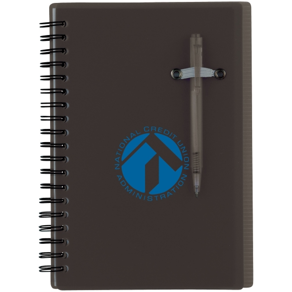 Chronicle - Spiral Notebook With Ruler Measurement On Back Cover Photo