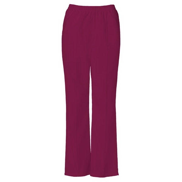 Cherokee - Wine - Sa4112 Stitch Crease Scrub Pant - 16 Colors Available Photo