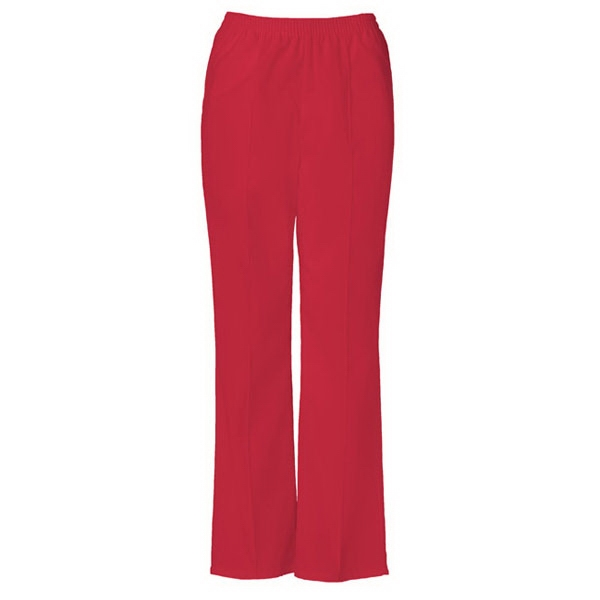 Cherokee - Red - Sa4112 Stitch Crease Scrub Pant - 16 Colors Available Photo