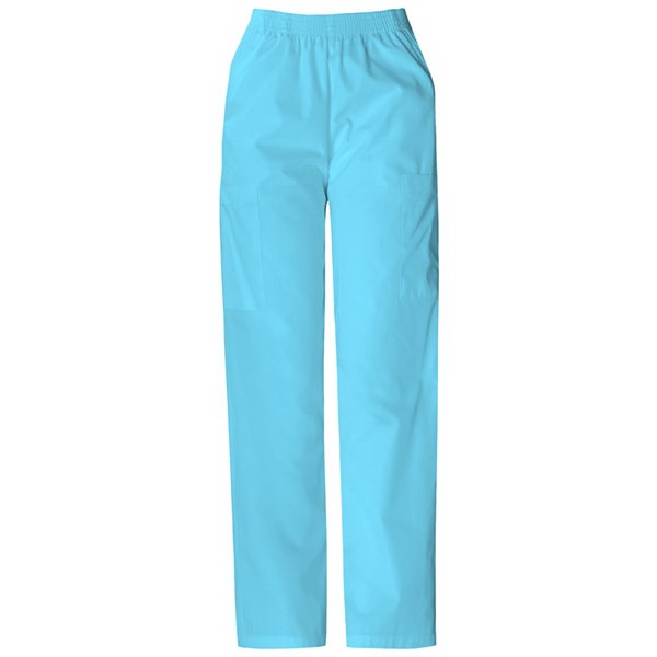 Dickies (r) - Icy Turquoise - Sa850506 Elastic Waist Scrub Pant - 20 Colors Available Photo