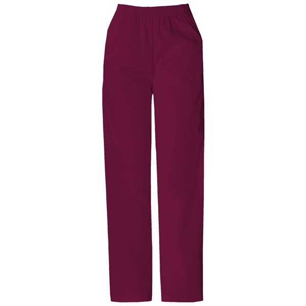 Dickies (r) - Wine - Sa850506 Elastic Waist Scrub Pant - 20 Colors Available Photo