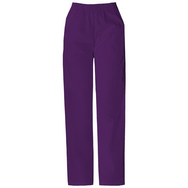 Dickies (r) - Eggplant - Sa850506 Elastic Waist Scrub Pant - 20 Colors Available Photo