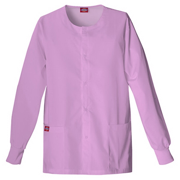 Dickies (r) - Candy Orchid - Sa885306 Round Neck Scrub Jacket Sa885306 - 20 Colors Available Photo