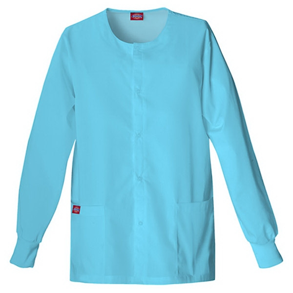 Dickies (r) - Icy Turquoise - Sa885306 Round Neck Scrub Jacket Sa885306 - 20 Colors Available Photo