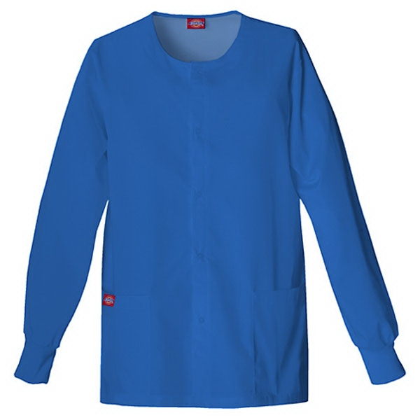 Dickies (r) - Royal Blue - Sa885306 Round Neck Scrub Jacket Sa885306 - 20 Colors Available Photo