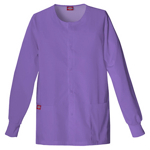 Dickies (r) - Violet - Sa885306 Round Neck Scrub Jacket Sa885306 - 20 Colors Available Photo