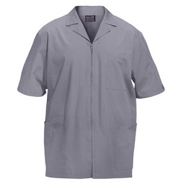 Cherokee - Gray - Sa4300 Men's Zip Front Scrub Jacket - 11 Colors Available Photo