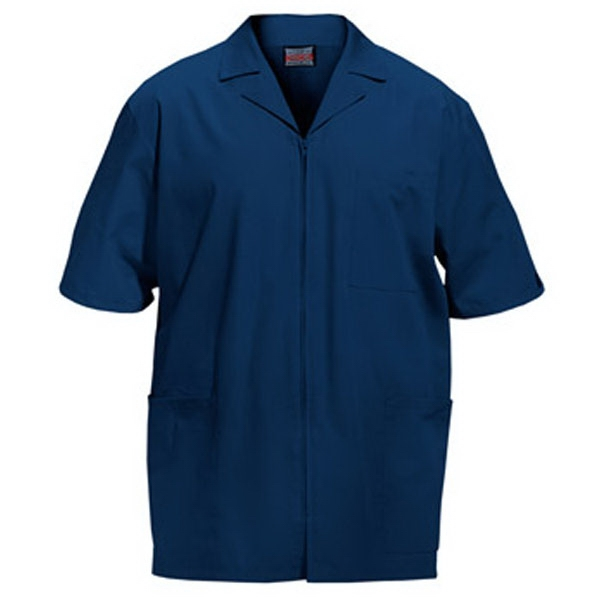 Cherokee - Navy - Sa4300 Men's Zip Front Scrub Jacket - 11 Colors Available Photo