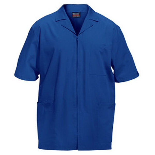 Cherokee - Royal Blue - Sa4300 Men's Zip Front Scrub Jacket - 11 Colors Available Photo