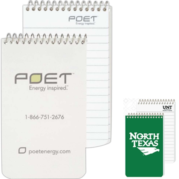 Pocket Coil Notebook With 40 Inside Sheets Photo