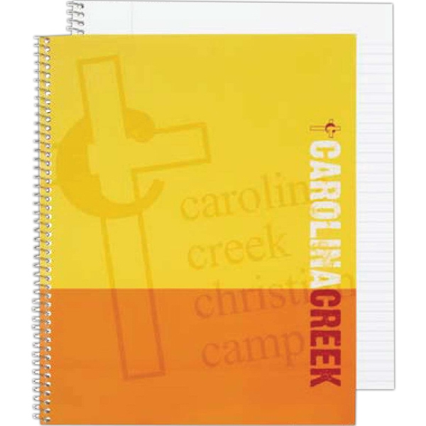 "Econo - Economy Composition Notebook With 50 Perforated Sheets And 9/32"" Wide Rule Photo"