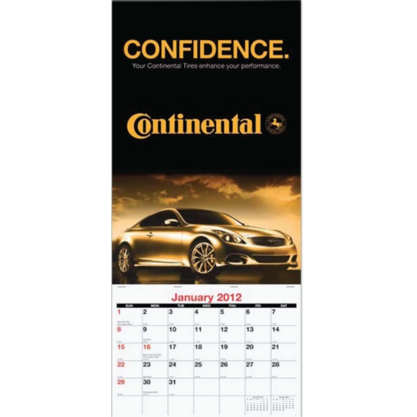 Custom Single Image Monthly Wall Calendar Photo