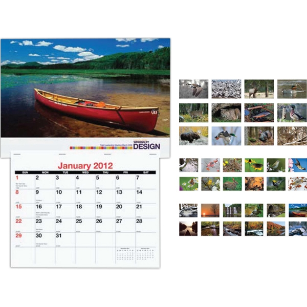 Mailable Monthly Wall Calendar Photo