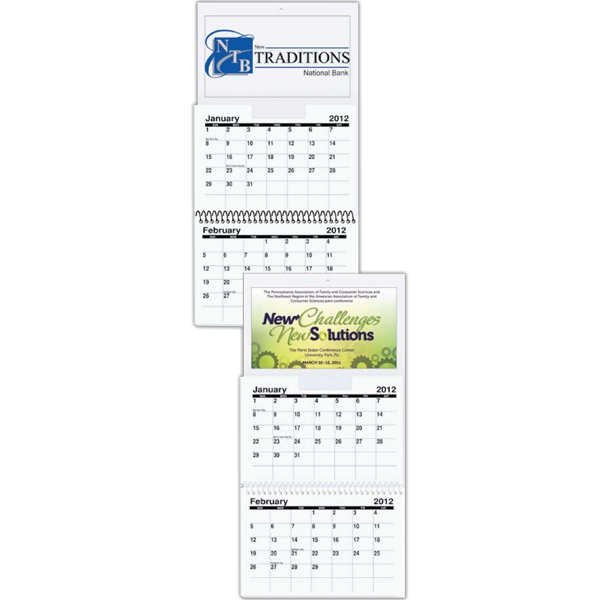 Small Wall Calendar - Two Months At A Glance Photo