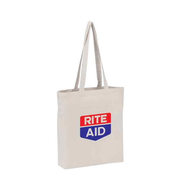 "Silkscreen - Economy Tote Bag Made Of 9 Oz. Canvas With 32"" Shoulder Length Self-fabric Straps Photo"