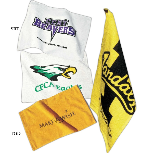 Game Day - Blank. Not Printed Spirit Towels, Economical And Available In White Fabric Only Photo