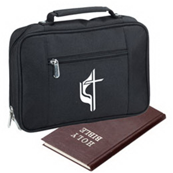 Polyester Bible Case With Zippered Main Compartment Photo
