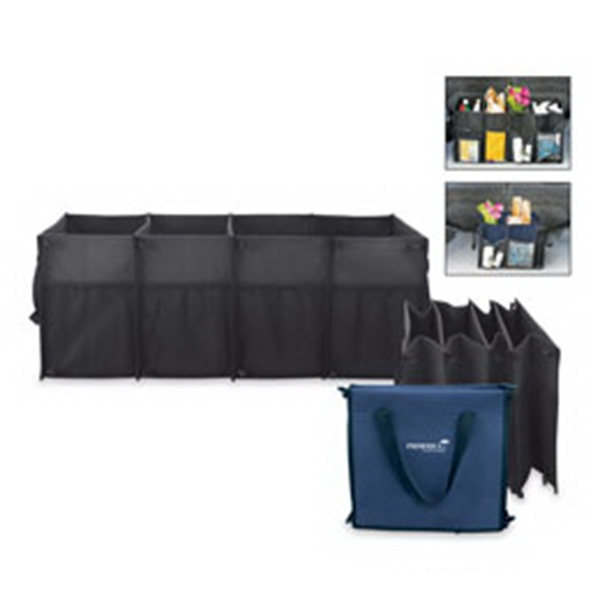 All Purpose Car Trunk Organizer In Fine Polyester Photo