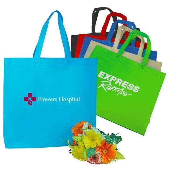 Jumbo Stitchless Shopping Tote Bag Made Of 80gm Non-woven Polypropylene Photo