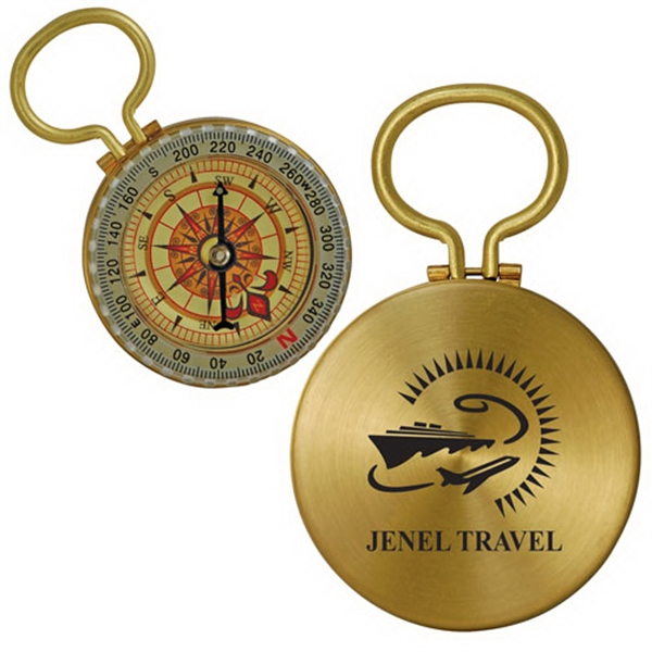 Handy Brass Compass Photo