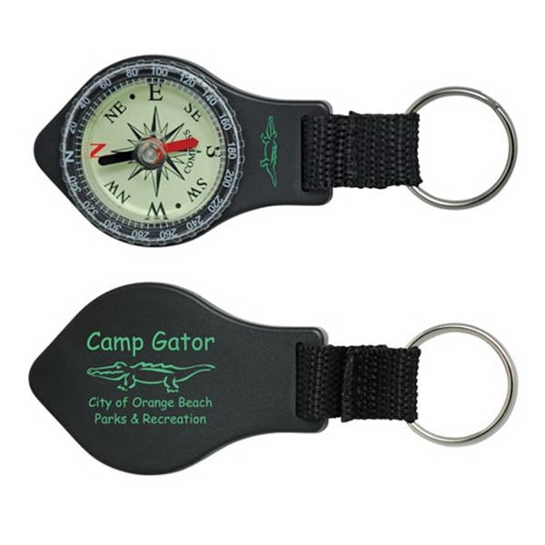 Compact Compass With Key-ring Photo