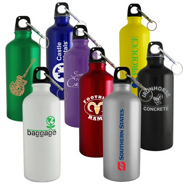 22 Oz. Aluminum Sports Bottle Photo