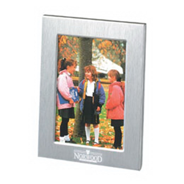 "Metal Frame For 3"" X 4"" Pictures With Black Velvet Easel Back Photo"