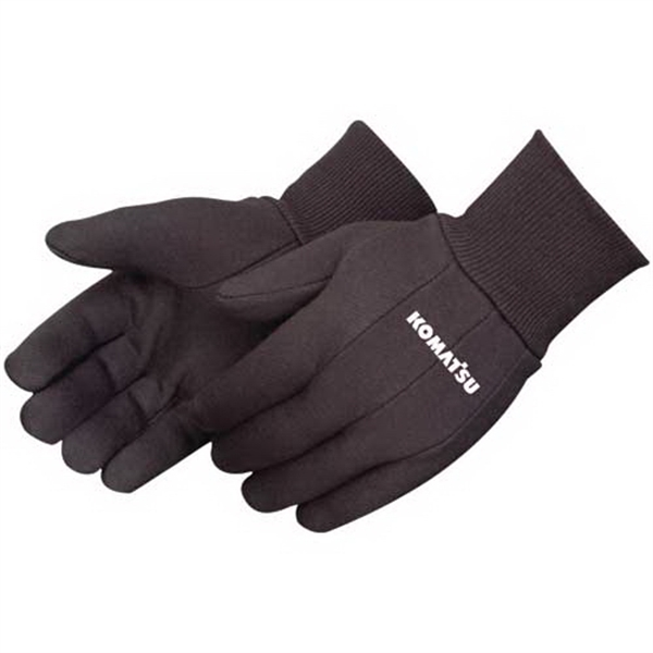 Brown Jersey Work Gloves Photo