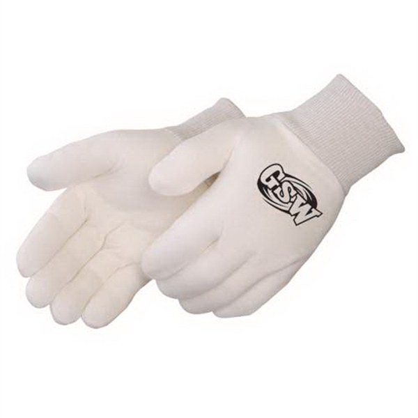 Regular Weight Reversible Natural Jersey Gloves Photo